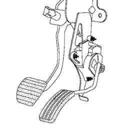 Педаль акселератора