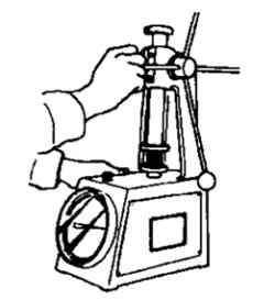 Проверка тарировки пружины