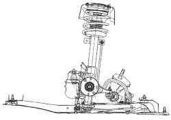 Передняя подвеска автомобиля Megane II
