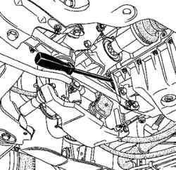 Блокировка маховика двигателя