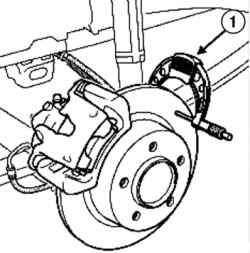 Установка микрометра для измерения толщины тормозного диска