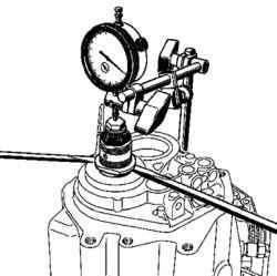 Установка стрелочного индикатора