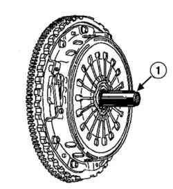 Центровка ведомого диска
