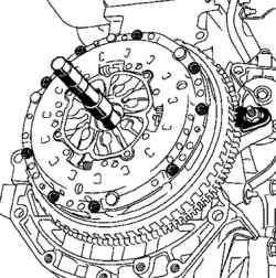 Центрирование ведомого диска