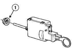 Гайка крепления электродвигателя
