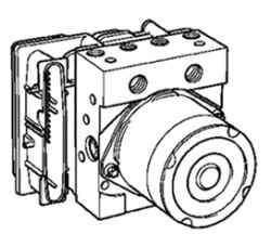 ЭБУ электронасоса системы стабилизации траекториии и системы ABS