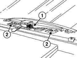 Снятие верхнего стоп-сигнала