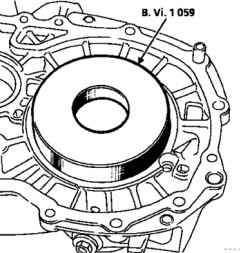 Установка сепараторов подшипников (большой диаметр)