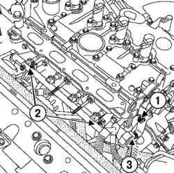 Снятие трубки маслоизмерительного щупа