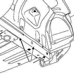 Проверка в зонах крепления механических узлов