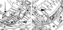 Пробка сливного и заливного отверстия двигателей K4J, K4M