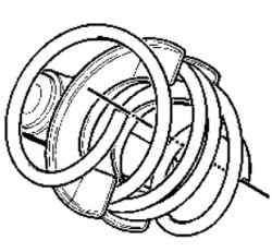 Правильная установочная ориетация амортизаторной пружины
