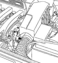 Снятие воздушного резонатора
