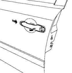 Снятие наружной ручки двери