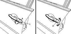 Использование встроенного запасного ключа