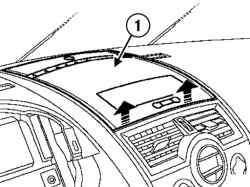 Отсоединение верхней крышки или держателя дисплея