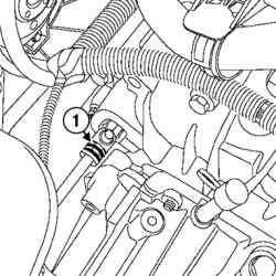 Фиксатор штуцера трубопровода (механическая коробка передач)