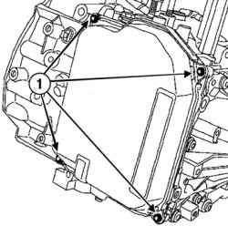 Снятие креплений крышки гидрораспределителя