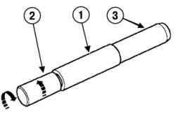 Установка поршневого пальца на монтажную оправку