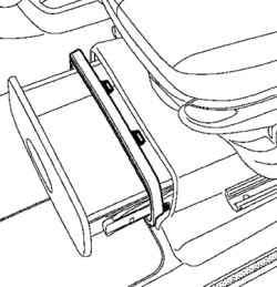 Отсоединеие креплений рамки выдвижного ящика