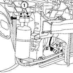 Болты крепления трубопроводов к ресиверу-осушителю