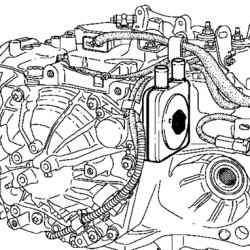 Идентификационная маркировка автоматической коробки передач