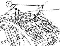 Отсоединение системы навигации Carminat