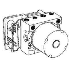 ЭБУ электронасоса системы ABS