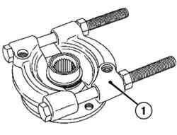 Выпрессовка из ступицы внутреннего колца подшипника