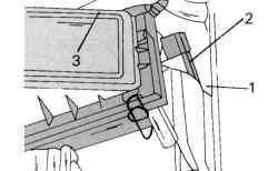 Крепление воздушного фильтра