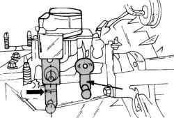 Положение рычагов коробки передач