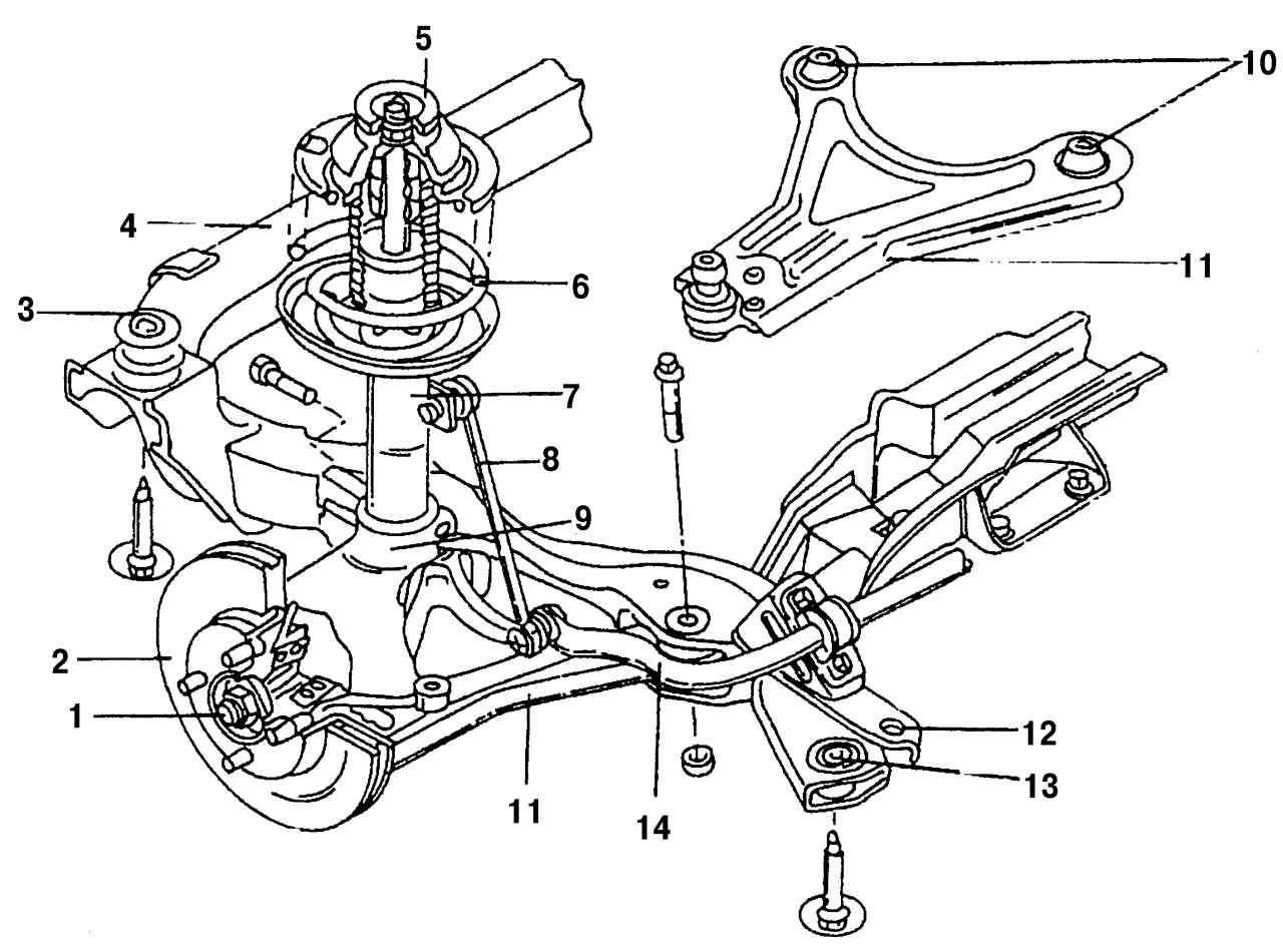Форд фокус 1 стук передних суппортов 1 фотография
