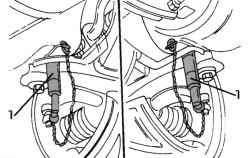 Использование направляющих штифтов для центрирования подрамника