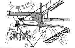 Крепление тросиков