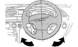 Установка рулевого колеса в положение, соответствующее прямолинейному движению автомобиля