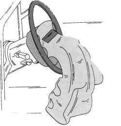 Подушка безопасности после выпуска газа