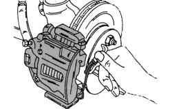 Предохранительный зажим тормозной колодки