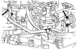 Элементы системы рециркуляции отработавших газов (AGR)