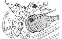 Крепление тормозного суппорта