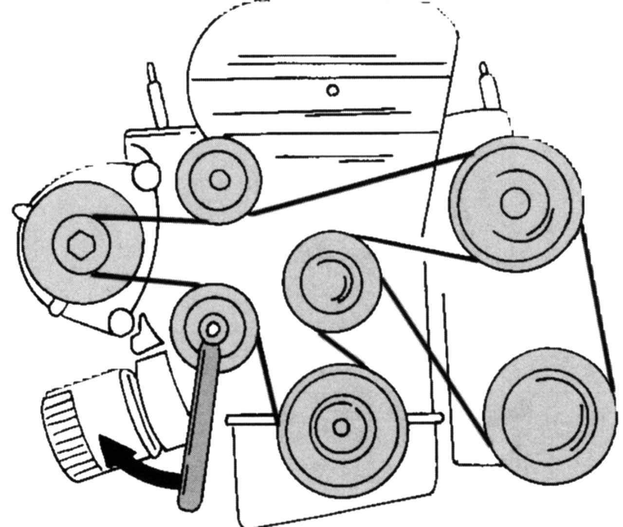 Установка ремня на двигатель форд транзит 2006 г фото 3 фотография