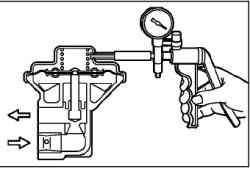 Операции на прогретом двигателе