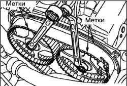 Замена ремня привода ГРМ и ремня привода балансирного механизма (4G63)