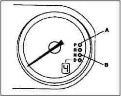 Контрольные лампы АКПП
