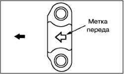Снятие и установка сальников распределительных валов (4G63)