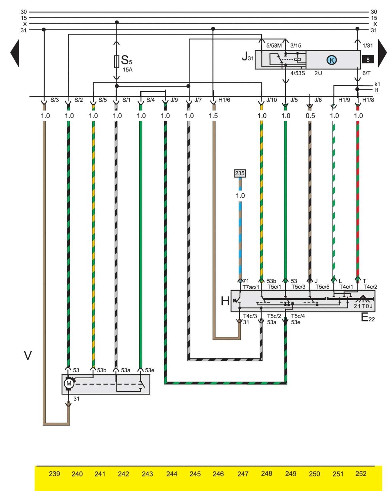 Схема подключения замка зажигания на гольф 3