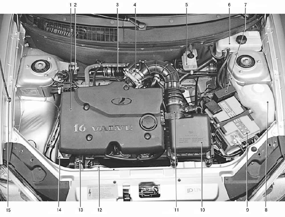 Фото №40 - устройство автомобиля ВАЗ 2110 инжектор