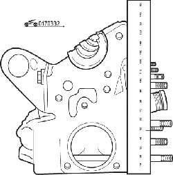 Комплект деталей для установки клапана в пакете