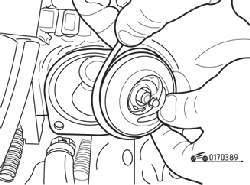 Снятие термостата и уплотнительного кольца