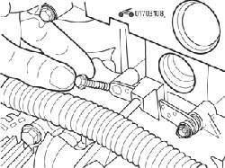 Специальные болты, применяемые для крепления датчика положения коленчатого вала