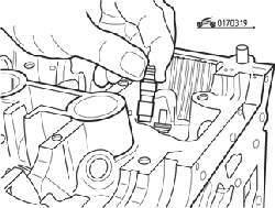 Снятие гидротолкателей